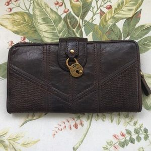 VINTAGE LEATHER WALLET by JUICY COUTURE
